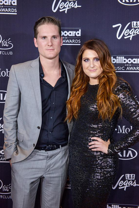 Meghan Trainor & Ryan Trainor Attend the Official 2016 Billboard Music Awards After Party at Drai's Nightclub in Las Vegas