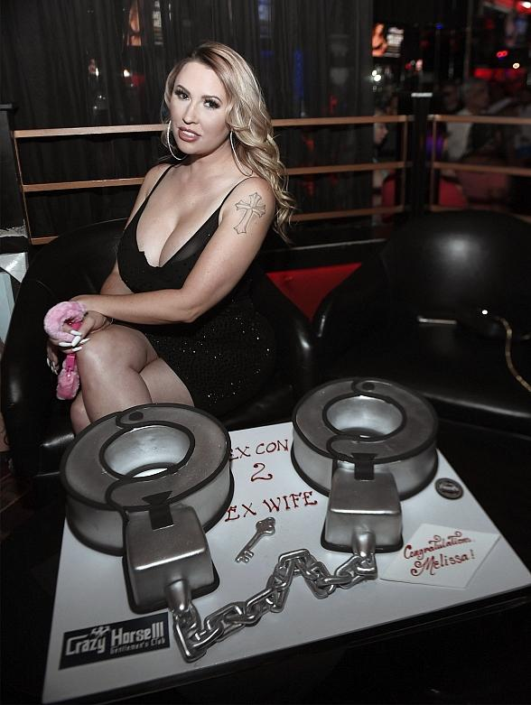 Melissa Meeks Hosts Official Divorce Party at Crazy Horse 3 in Las Vegas