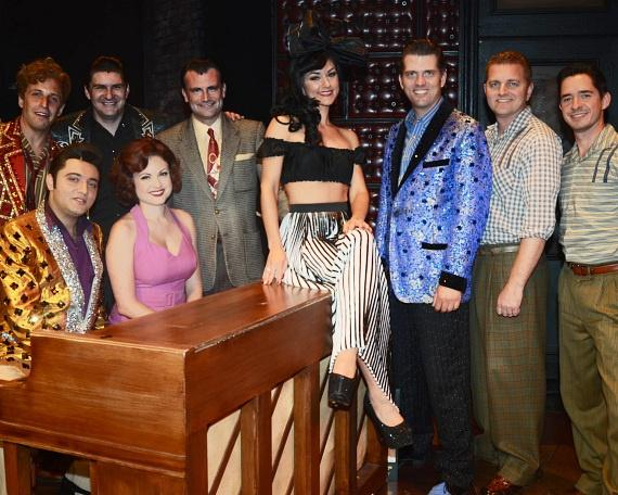 Melody Sweets with the Cast of MILLION DOLLAR QUARTET Las Vegas