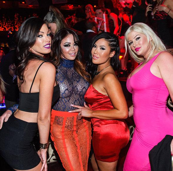 Mia Lelani, London Keyes and Friends host at TAO Nightclub at The Venetian Las Vegas
