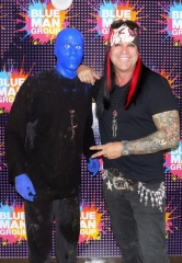 Michael Godard attends Blue Man Group Las Vegas