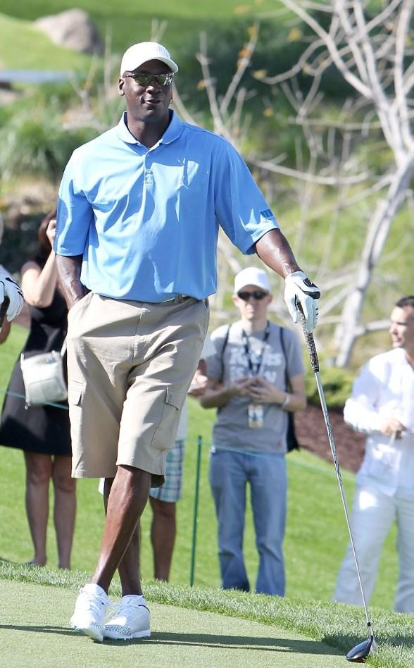 Michael Jordan at Shadow Creek for MJCI
