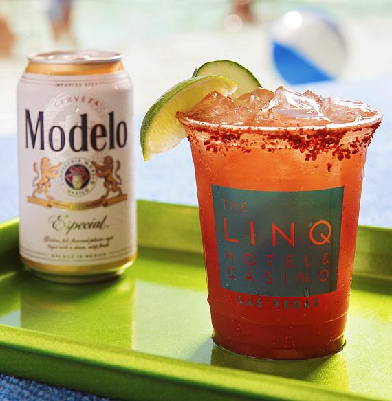 Michelada at Influence, The POOL at The LINQ Hotel + Experience
