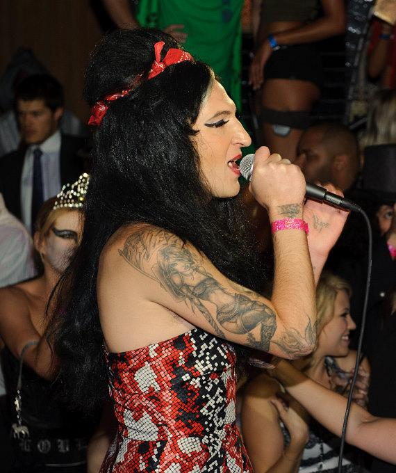 Mickey Avalon performs at LAVO