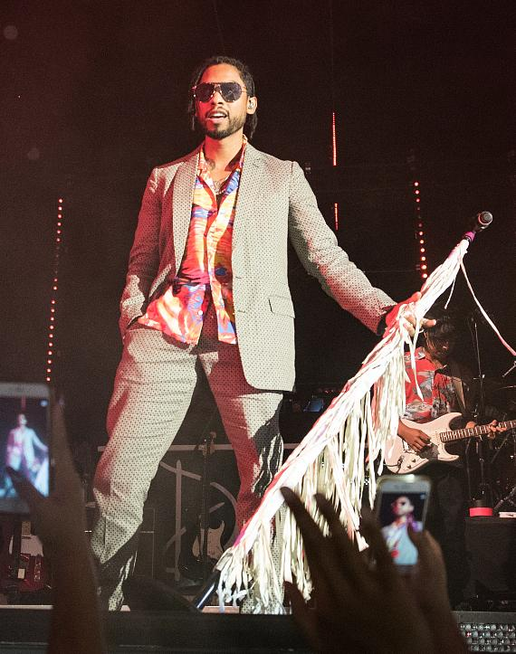 R&B Crooner Miguel performs on Drai's LIVE Stage at Drai's Nightclub in Las Vegas