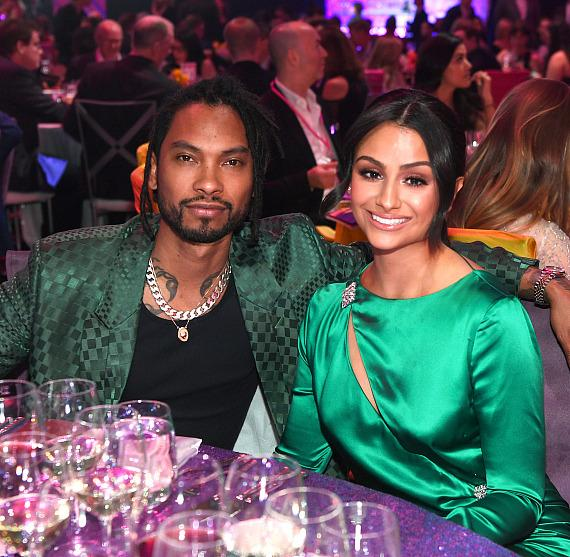 Miguel and Nazanin Mandi at Keep Memory Alive's 23rd Annual Power of Love Gala