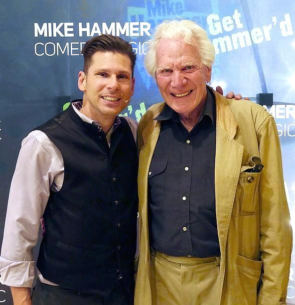 Legendary Magician Norm Nielson Visits The Mike Hammer Show at Four Queens Hotel & Casino Las Vegas