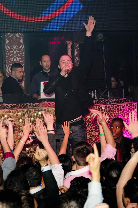 Mike Posner at TAO
