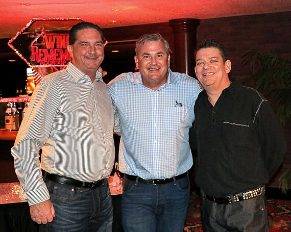 Mike Rosenow, Michael Silberling and Anthony Tricase