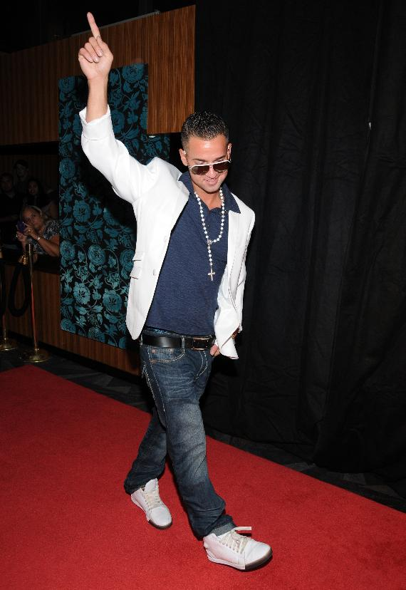 """Mike """"The Situation"""" Sorrentino of Jersey Shore hosts at LAX Nightclub"""