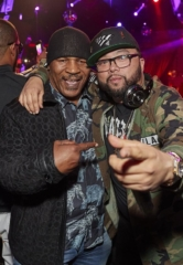 Mike Tyson and NFL Standouts Kareem Martin, Gabe Martin and Deone Bucannon Join in on Revelry at Drai's Nightclub in Las Vegas