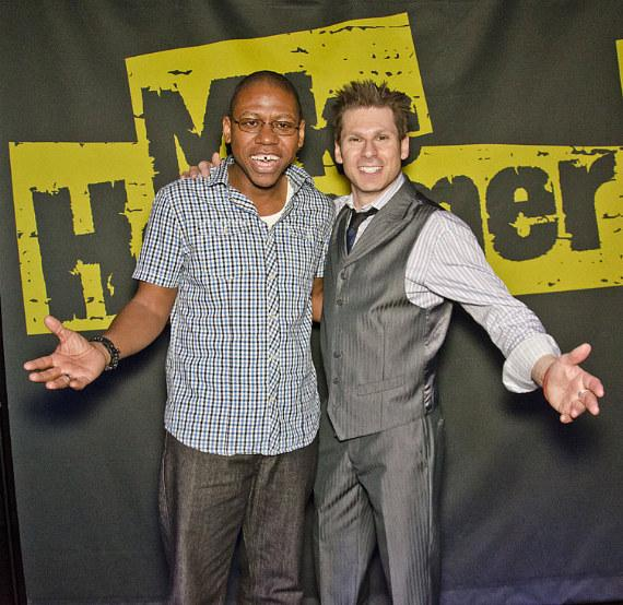 Will Edwards and Mike Hammer