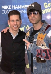 "Magician Criss Angel Attends ""The Mike Hammer Comedy & Magic Show"" at The Four Queens Hotel & Casino"