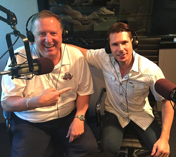 Comedian Mike Hammer visits Talk Radio Host Kevin Wall on 790 Talk Now