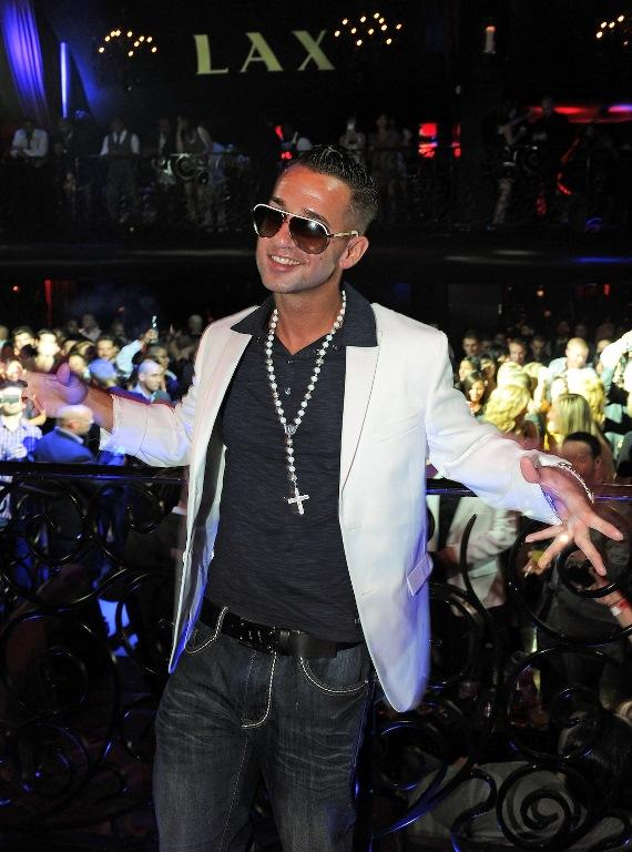 """Mike """"The Situation"""" Sorrentino of Jersey Shore in LAX Nightclub"""