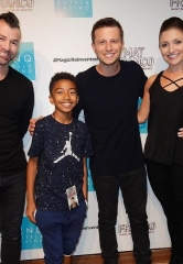 "Miles ""Baby Boogaloo"" Brown Attends 'Mat Franco – Magic Reinvented Nightly' at the Linq Hotel & Casino Las Vegas"