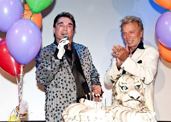 Roy Horn of Siegfried & Roy Celebrates Birthday at The Mirage