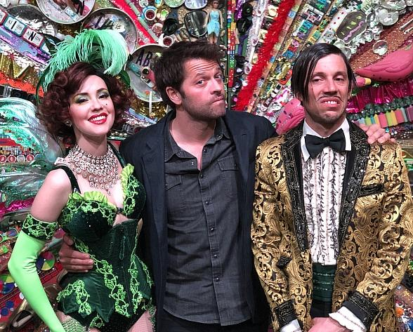 Actor Misha Collins Attends ABSINTHE at Caesars Palace