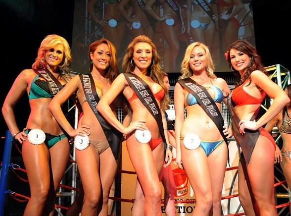 Miss Knockout 3rd Preliminary Winners at Studio 54 Las Vegas