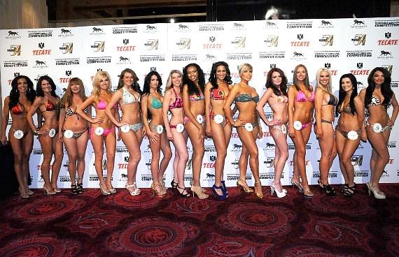 Miss Knockout Contestants at Studio 54 Las Vegas