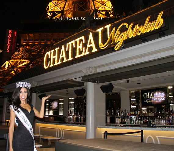 Miss Nevada USA 2015 Brittany McGowan at Chateau