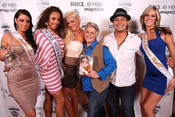 Miss United States, Amy Heart, Sin City Ellen, Barry Black with models
