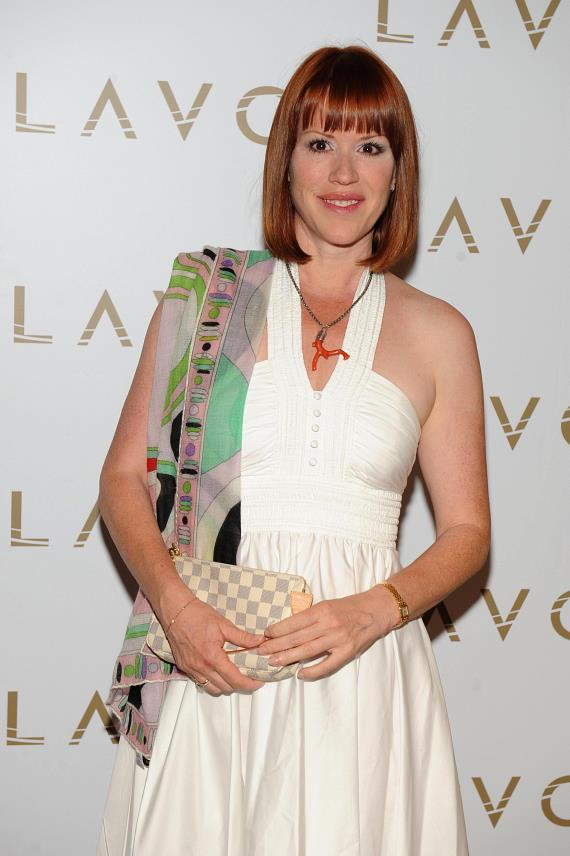 Molly Ringwald LAVO red carpet