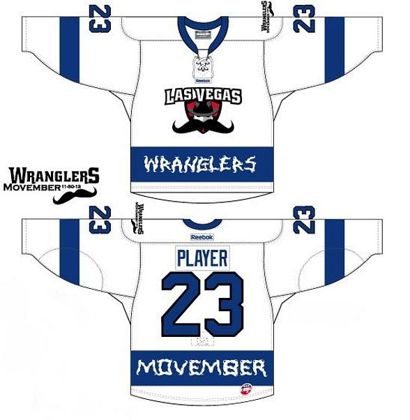 Wranglers Reveal Movember Jerseys