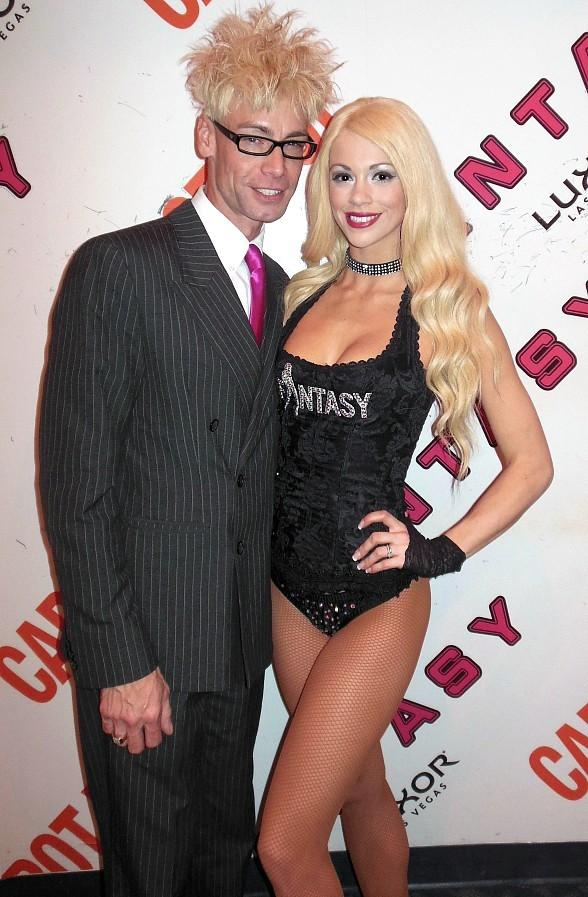 Murray SawChuck and Chloe Crawford at FANTASY in Luxor Las Vegas