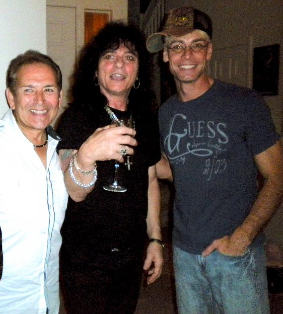 Baldy Silva of Toby Beau, Paul Shortino of Quiet Riot, and Murray SawChuck of MURRAY 'Celebrity Magician'