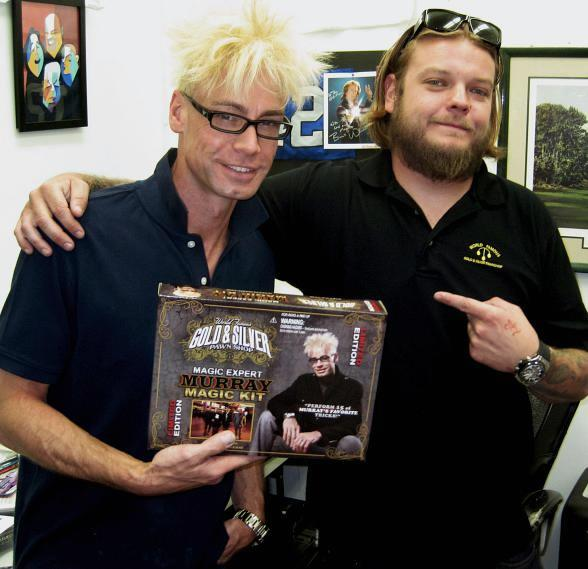 Murray SawChuck and Corey Harrison with the MURRAY Magic Kit