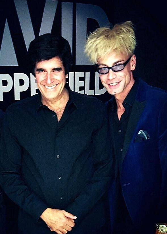 Murray the Magician Invited Backstage at David Copperfield's Show at MGM Grand Las Vegas