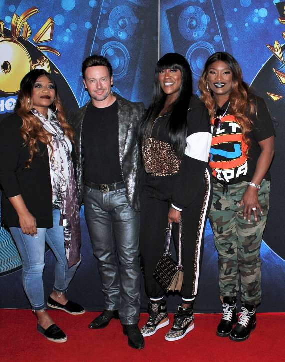 Musical group SWV and magician David Goldrake