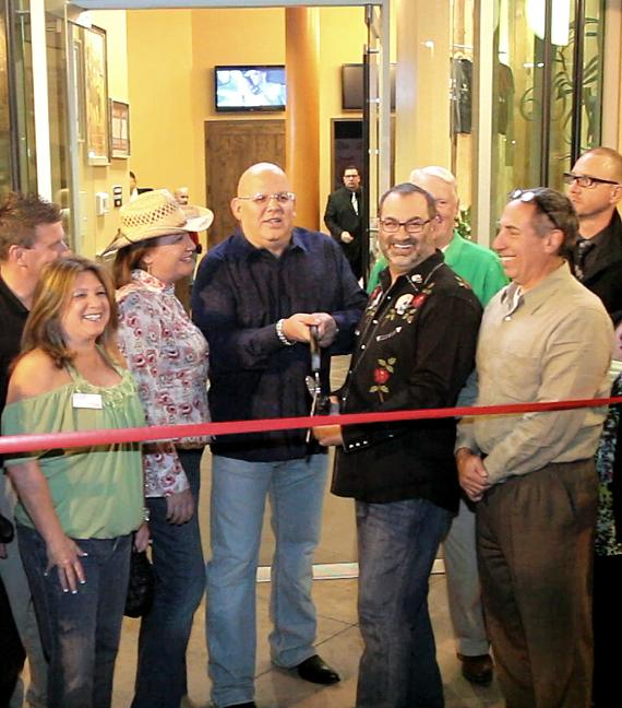 Ribbon cutting ceremony at Stoney's Rockin' Country