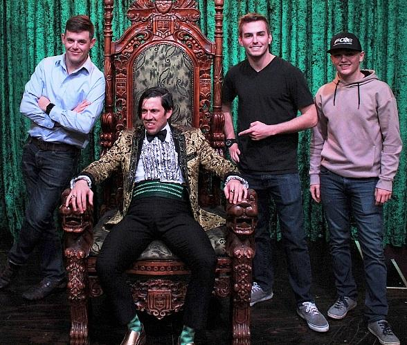 NASCAR Drivers Spencer Gallagher, Justin Haley and Dalton Sargeant Attend ABSINTHE at Caesars Palace Las Vegas