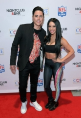 Tom Sandoval, Scheana Marie, Ron Jaworski, Jesse James Dupree and Ricardo Laguna Walk the Nightclub & Bar Convention and Trade Show Red Carpet