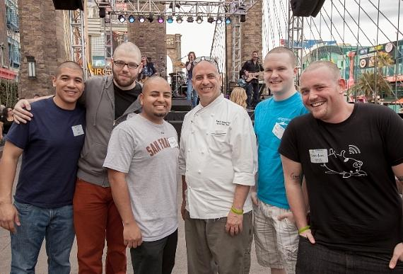 NFI Chef David Suppe and participants