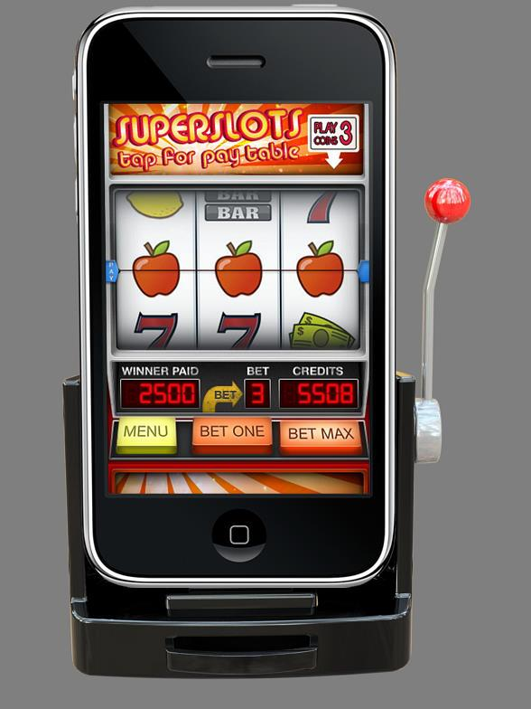 'Jackpot Slots' Converts iPhone to Slot Machine with Handle