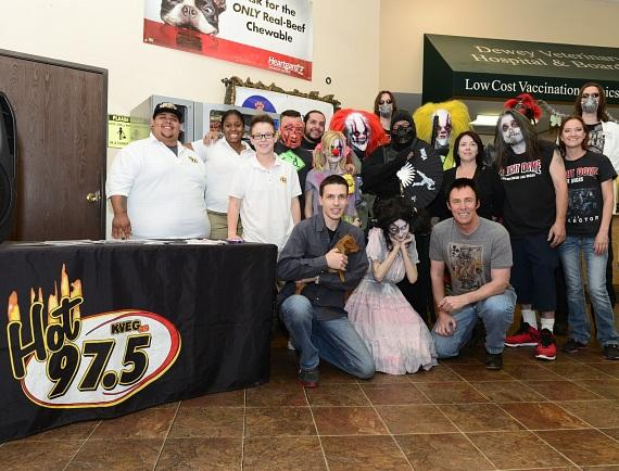 Fright Dome cast at NSPCA's BIG GIVE