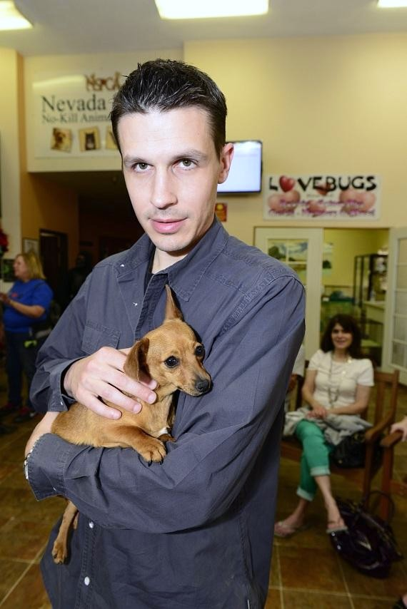 Fright Dome owner Jason Egan at NSPCA's BIG GIVE