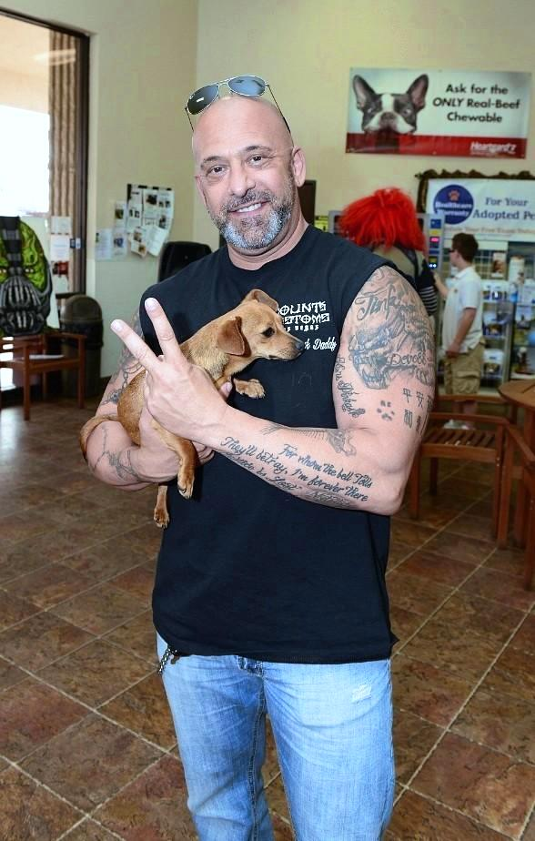 "Kevin Mack of ""Counting Cars"" at NSPCA's BIG GIVE"