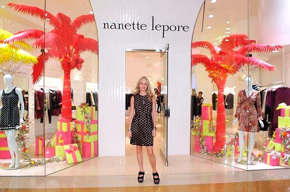 Celebrity Designer Nanette Lepore at Crystals at CityCenter