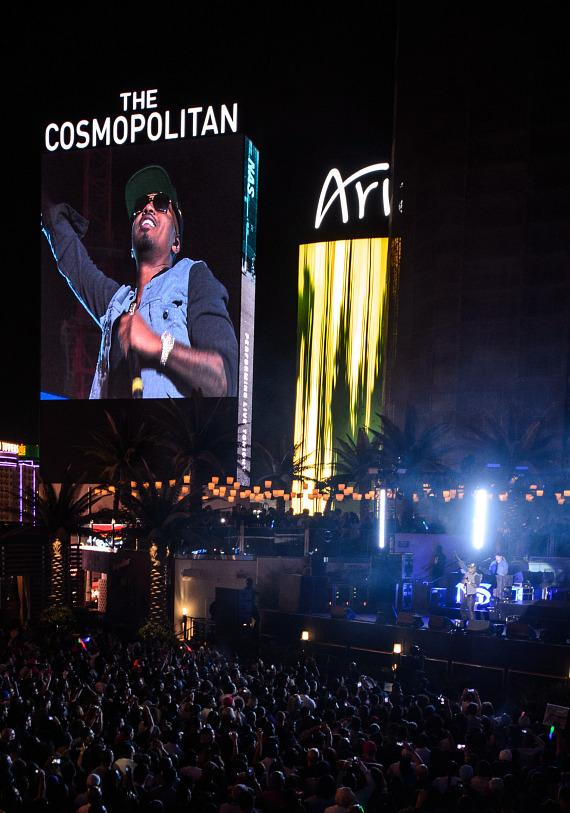 Nas performs at The Cosmopolitan