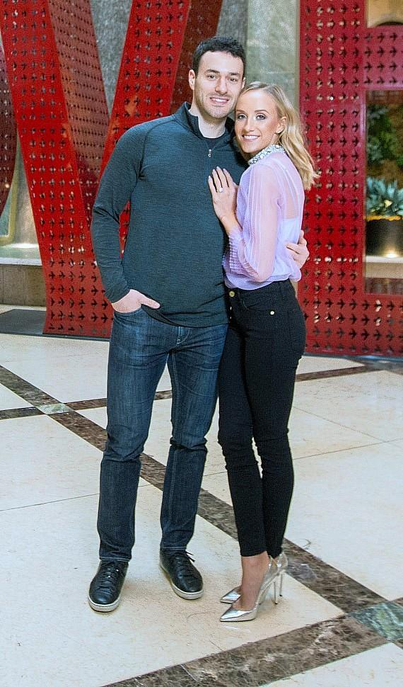 Nastia Liukin & Matt Lombardi at LOVE at The Venetian & The Palazzo