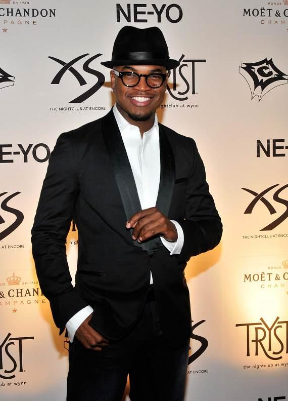 Ne-Yo on red carpet at Tryst
