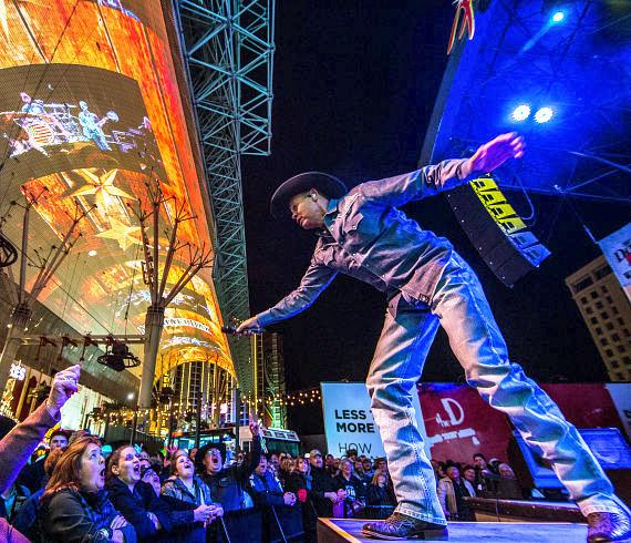 Neal McCoy at Downtown Hoedown at Fremont Street Experience
