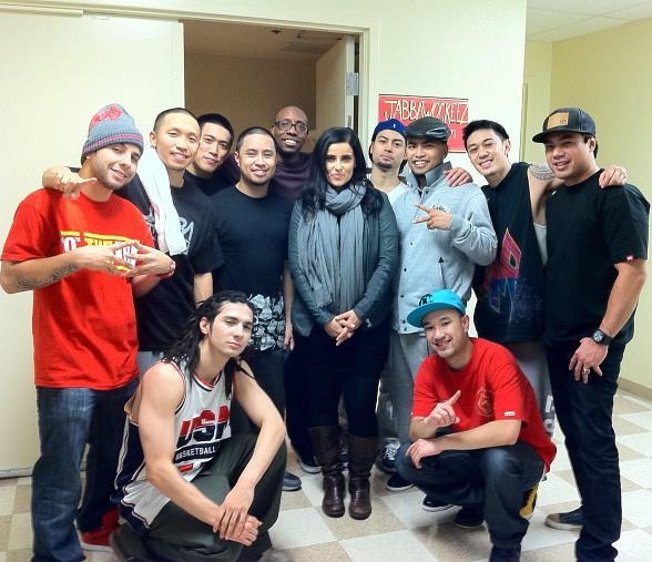 Nelly Furtado and JabbaWockeeZ