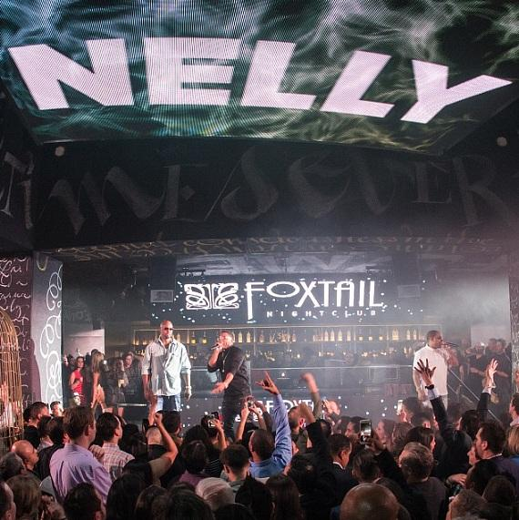 Nelly Performs to a Packed Crowd at Foxtail Nightclub