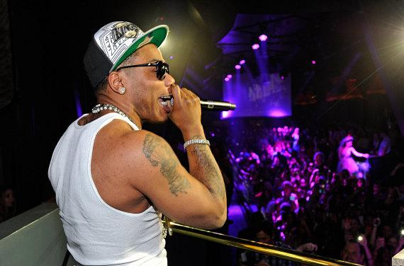 Nelly performs at Chateau Nightclub & Gardens