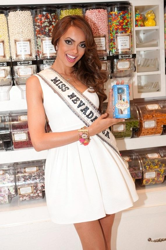 """Miss Nevada USA shows a little local love with Sugar Factory's """"Las Vegas"""" Series Couture Pop"""